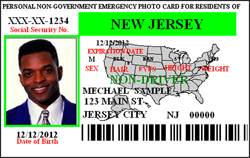 Non-Driver / State Resident 2