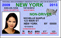 Non-Driver / State Resident 3